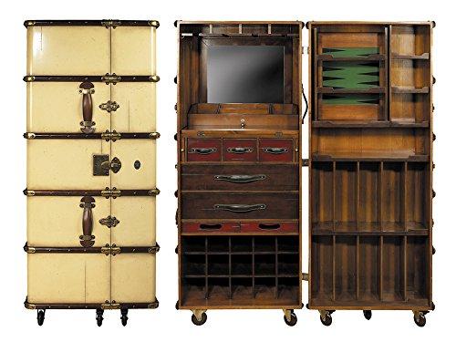 Koffer-Bar, elfenbein