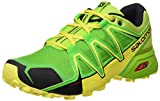 Salomon Speedcross Vario 2, Zapatillas de Trail Running para Hombre, Verde (Lime Green/Classic Green/Black), 46 EU
