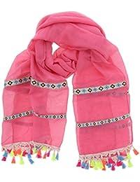 Amazon.fr   Pompons - Echarpes et foulards   Accessoires   Vêtements e38441c5067