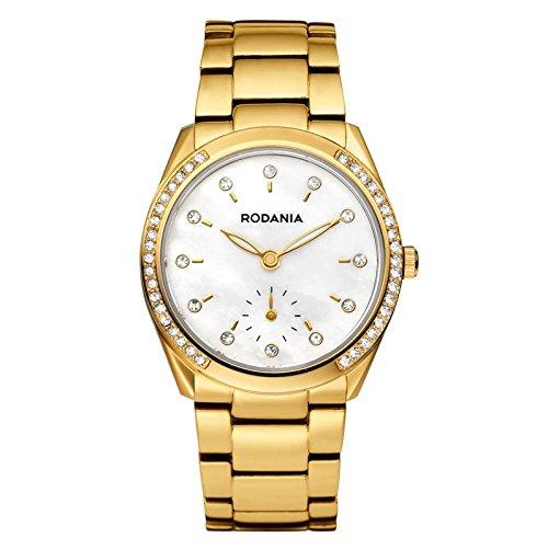 Rodania 26137-60 - Orologio da polso da donna colore oro