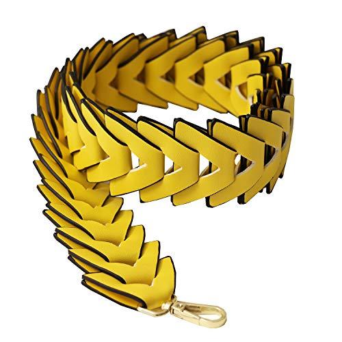 Sweet Deluxe Taschengurt, gelb I Schmuckset für Damen I Modeschmuck Set für Frauen I modisches Design Accessoires Set