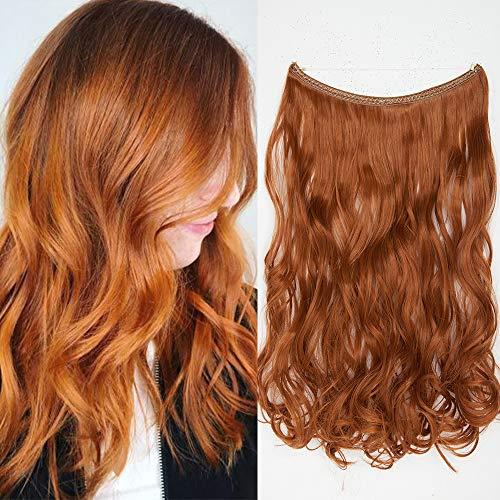 Extensión cabello Banda única hilo invisible Rizos
