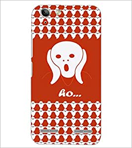 PrintDhaba Ghost Pattern D-5878 Back Case Cover for LENOVO VIBE K5 (Multi-Coloured)