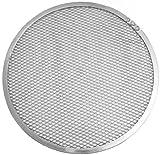 Fm Professional 21691.0 Griglia per Cottura Pizza, Alluminio, Argento, 28x28x0.3 cm