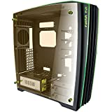 In Win H-Frame 2.0 Tower 1065W Black,Green computer case - computer cases (Tower, PC, Aluminium, Tempered glass, ATX,EATX,Micro-ATX, Black, green, Front, PSU fan, Top)