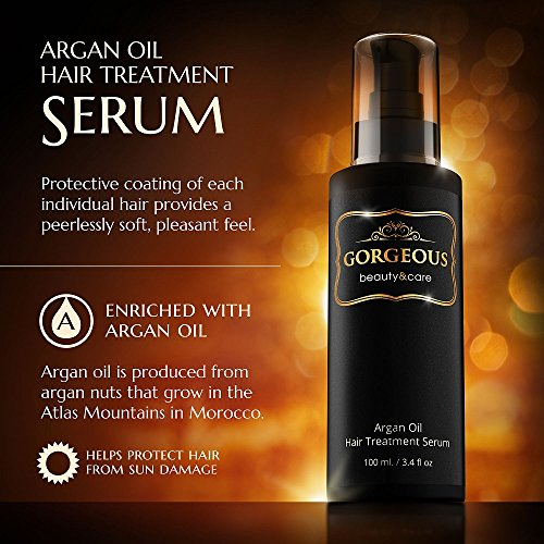 3.4 Oz Premium 100% Gorgeous Moroccan Argan Oil all Hair Types Hair Treatment