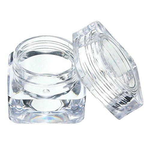 Bluelover Eye Cream Jar Acrylique Plastique Bouteille Maquillage Flacon Récipient Vide