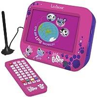 "Littlest PetShop - Televisor LCD digital de 7"" con TDT integrado (Lexibook DMPTV1LPSFR)"