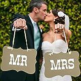 Hochzeits-Girlande, Banner, Foto Requisite-Hochzeitsdeko 13 Verschiedene Designs, Pappe, Mr & Mrs - Vintage Prop