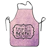 tgyew 2019 Apron Kawaii on The Streets Senpai in The Sheets Kitchen Cooking BBQ Apron