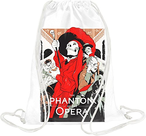 Official Merchandise Phantomoper - Phantom opera Gym Travel Drawstring Sack Printed Bags By -