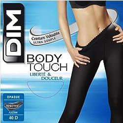 Dim Bodytouch Opaque Medias para Mujer, Color Azul oscuro, Talla 42/44 (L)