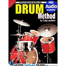 Drum Lessons: Teach Yourself How to Play Drums (Free Audio Available) (Progressive) (English Edition)