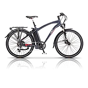 51lDF81fpRL. SS300  - Volt Electric Bike - Pulse - Long Distance E Bike - Hybrid Bike Perfect for Road and Country Trails - Women and Mens Bike Available in Multiple Frame and Battery Sizes