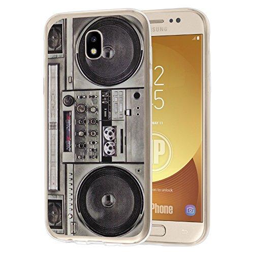 deinPhone Samsung Galaxy J5 (2017) Silikon Case Ghettoblaster