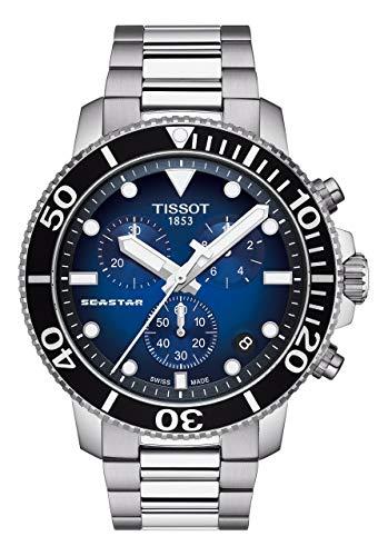 Tissot Seastar 1000 Chrono, blau, Edelstahlarmband, T120.417.11.041.01