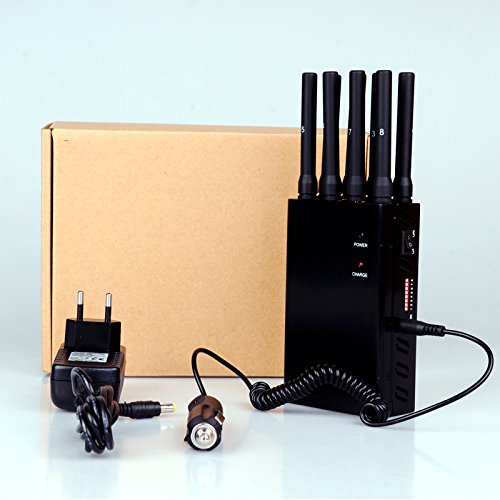 Multifunction Portable Car Jammer(Black)