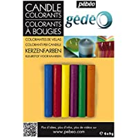 Gedeo - Colorantes de velas (6 colores)