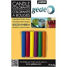 Gedeo - Colorantes de velas (6 colores)
