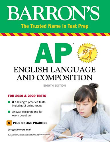 Barron's AP English Language and Composition with Online Tests por George Ehrenhaft