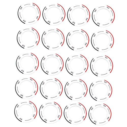 Collar de Collares de Protección Universal de 20 Piezas para Calefactor de Calentador de Cera 14 Oz