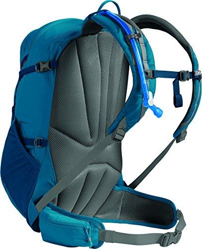 CamelBak Unisex Rim Runner 22 Hydration Pack Trinkrucksack Grecian Blue/Pumpkin
