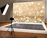 YongFoto 2,2x1,5m Foto Hintergrund Weihnachten Vinyl Bokeh Sparkle Pailletten Glänzendes Licht Glitter Fotografie Hintergrund Foto Leinwand Kinder Fotostudio 7x5ft