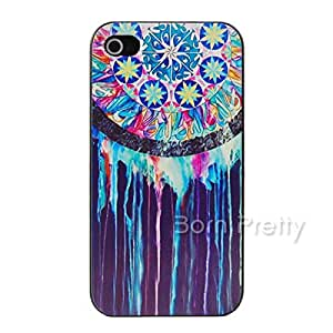GENERIC Dreamcatcher Watercolor Paint Black Case For iPhone 5