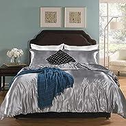 Bedding_Dreamer Silk Like Satin Duvet Cover Set