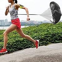 Preisvergleich für Swiftswan 56 Zoll Laufgeschwindigkeit Widerstand Regenschirm Übung Geschwindigkeit Training Fallschirm