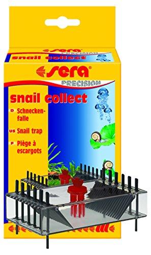 sera 08585 snail collect eine Schneckenfalle, das ungewollte Fangen von Fischen wird durch Stäbchen im Eingang der Falle vermieden