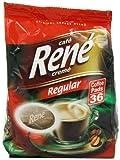 Caf? Rene Crem? Regular Roast Coffee Pads 252 g (Pack of 2, Total 72 Coffee Pads)