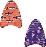 Bestway Swim Safe Kickboard, mit Textilbezug, für Kinder 3-6 Jahre (M/L), sortiert