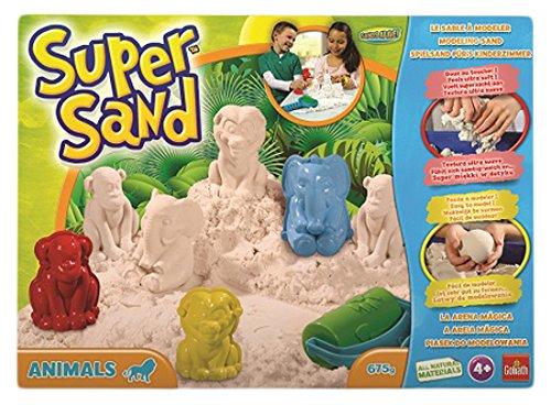 Goliath 83213008 - Super Sand Animals (Geschenke Zum Geburtstag Für 1 Jährigen Jungen)
