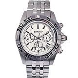 Time W70002G.02A - Orologio da polso da uomo, cinturino in acciaio inox colore grigio