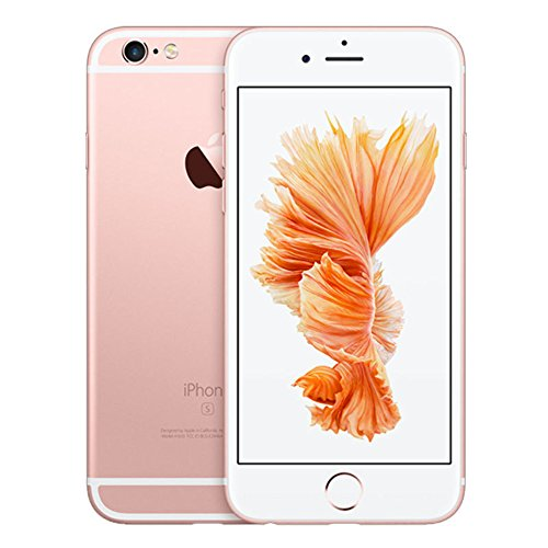 Apple iPhone FaceTime 128GB Rose - Apple iPhone 6S with FaceTime - 128GB, 4G LTE, Rose Gold