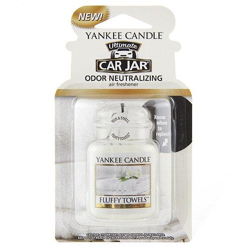 YANKEE CANDLE, 1220928,Fluffy Towels, Deodorante mangiaodori per Auto