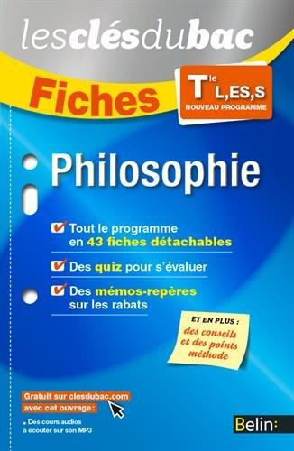Philosophie TLES - Les Clés du Bac