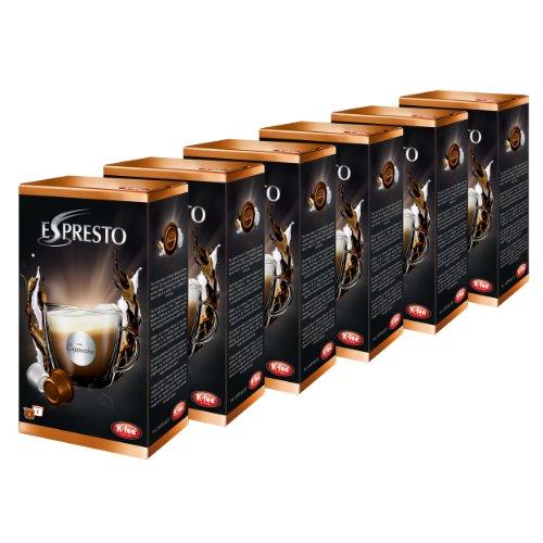 K-Fee Espresto Cappuccino Espresso, Caffè, Arabica, Nespresso, 6 x 16 Capsule