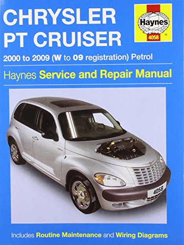 Chrysler PT Cruiser Petrol: 2000 to 2009 (Haynes Service and Repair Manuals) by Robert Maddox (15-Nov-2009) Paperback (Haynes Pt Cruiser)
