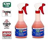 PRAKTISCHES SET 2 x 500 ml CW1:100 Dr WACK PREMIUM INSEKTENENTFERNER Super-Gel-Formel