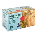 Grüner Tee + Ingwer + Ginseng Filterbeutel 20 stk