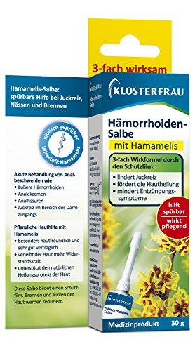 faktu zaepfchen Klosterfrau Hämorrhoiden-Salbe, 30 g