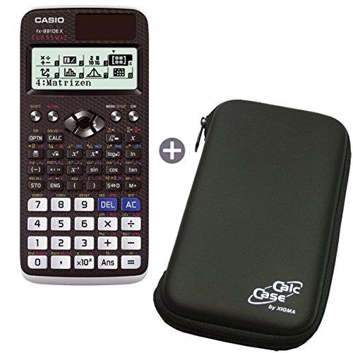 Casio FX-991 DE X mit Schutztasche (CalcCase)