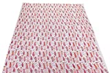 #10: Trade Star Indian Running Handmade Block Print Cotton Voile Upholestry Fabric by Meter