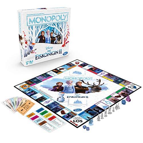 Monopoly die Eiskönigin 2, Brettspiel für Kinder ab 8 - Monopoly Kinder
