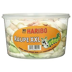 Haribo Raupe XXL, 30 Stück, 960 g