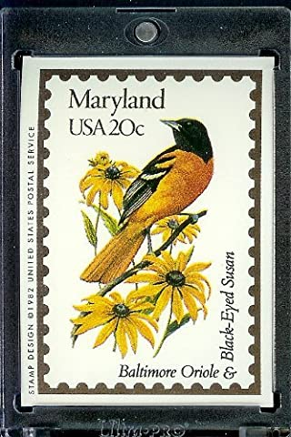 1991 Bon Air Maryland Stamp Replica Trading Card