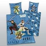 Bettwäsche Herding Star Wars Joda Luke Skywalker LINON 135x200 cm NEU All-In-One-Outlet-24