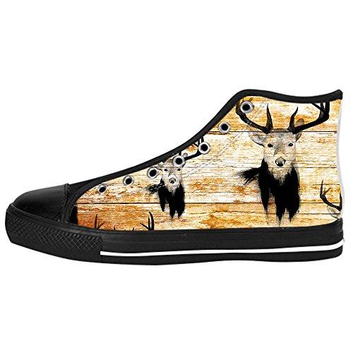 Dalliy kunst hirsch Kids Canvas shoes Schuhe Lace-up High-top Footwear Sneakers D